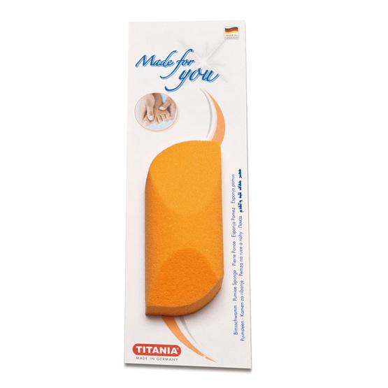 Titania Pumice sponge #Orange