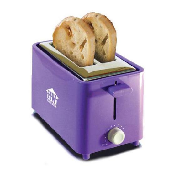 House Worth เครื่องปิ้งขนมปัง  2 ชิ้น HW-T04P