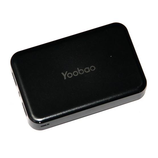Powerbank แบตเตอรี่สำรอง  Yoobao M25 20000mAh