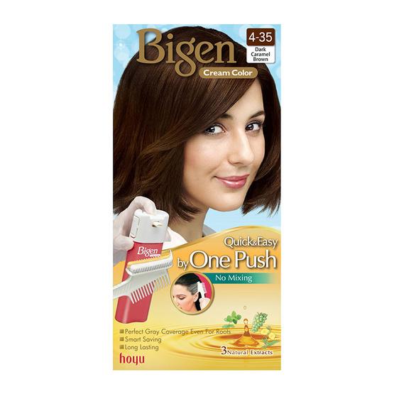 Bigen Cream Color #4-35 Dark Caramel Brown