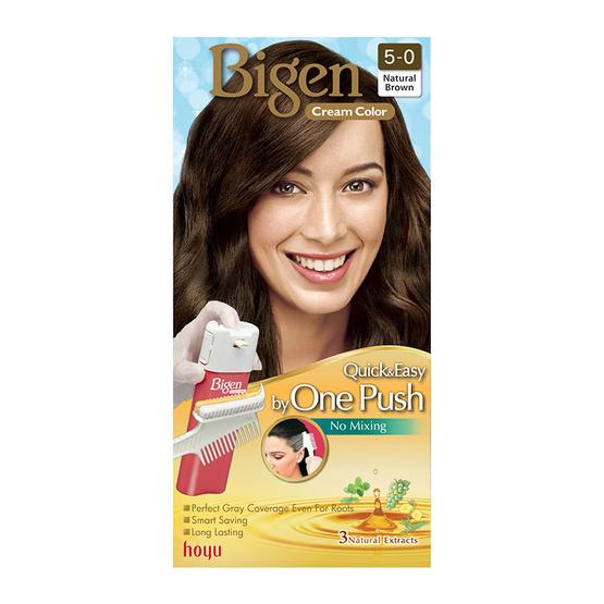 Bigen Cream Color #5-0 Natural Brown