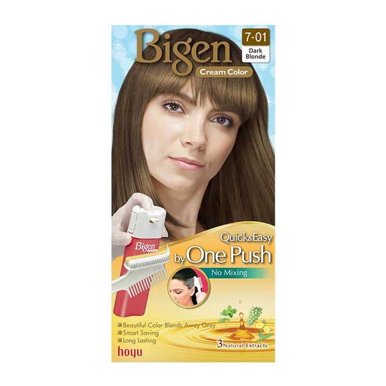 Bigen Cream Color #7-01 Dark Blonde