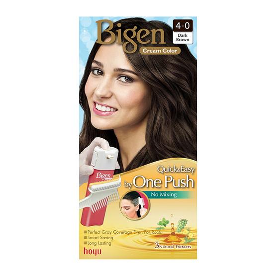Bigen Cream Color #4-0 Dark Brown