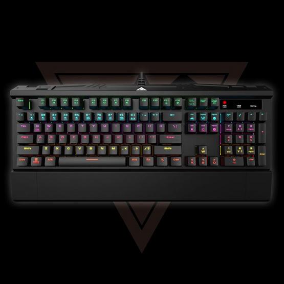 GAMDIAS Gaming Keyboard Hermes 7 Color
