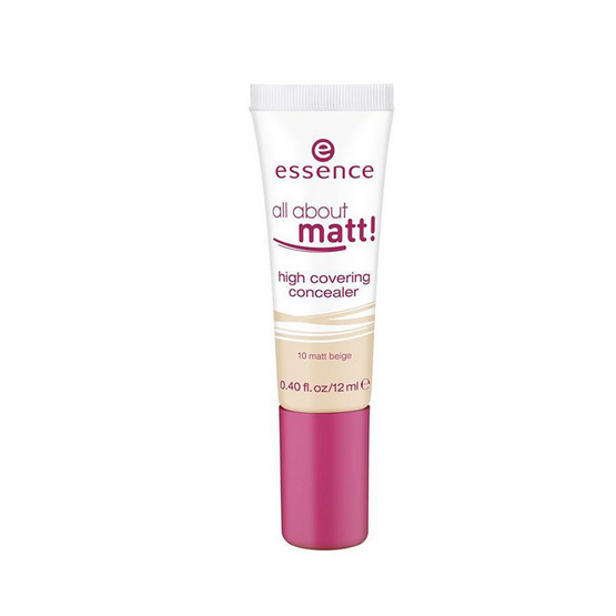 Essence all about matt! high covering concealer 12ml. #10