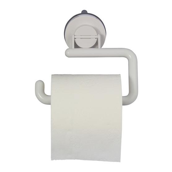 DeHUB ที่ใส่กระดาษชำระ สีขาว (Super Suction)
