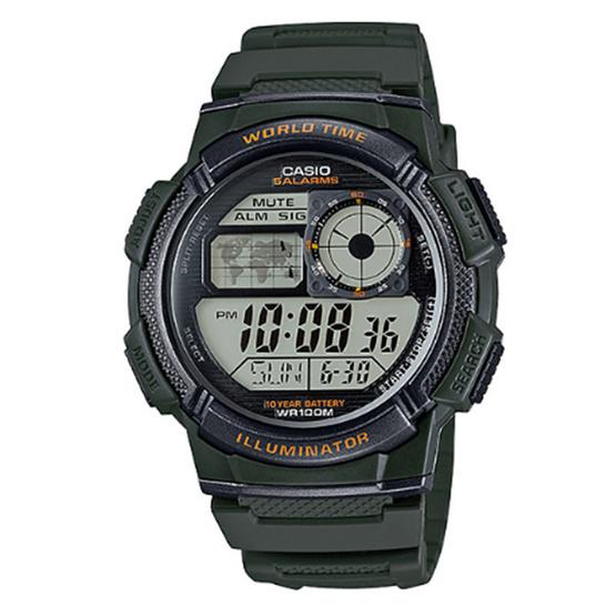 CASIO นาฬิกาข้อมือ รุ่น AE1000W-3AVDF