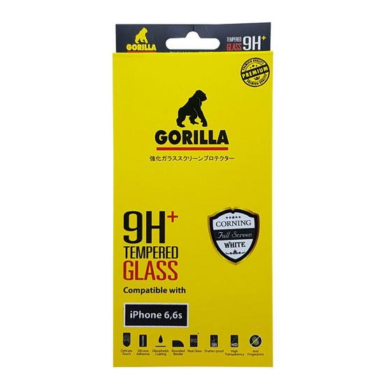 Gorilla Tempered Glass iPhone 6 TG-FULL White