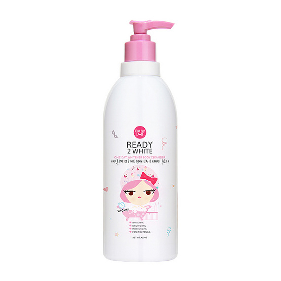 Cathy Doll One Day Whitener Body Cleanser 450ml.
