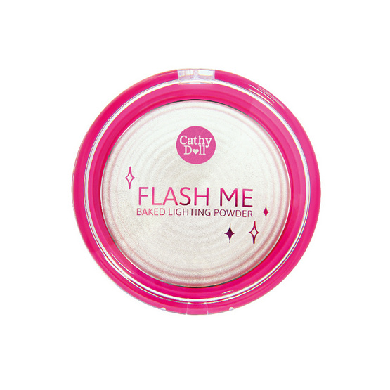 Cathy Doll Flash Me Baked Lighting Powder 8g. #1 Aura Lights