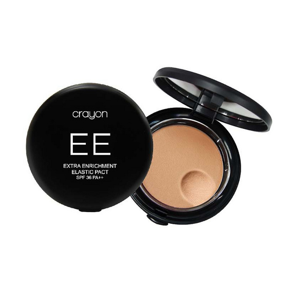 Crayon Extra Enrichment Elastic Pact SPF36 PA++ 10g. #ight
