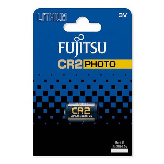 Fujitsu ถ่านลิเธี่ยม CR2(B) 3V. แพ็คละ 1 ก้อน