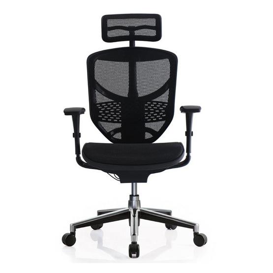DF Prochair Ergonomic chair เก้าอี้สำนักงานเพื่อสุขภาพ รุ่น JJ-H Smart สีดำ