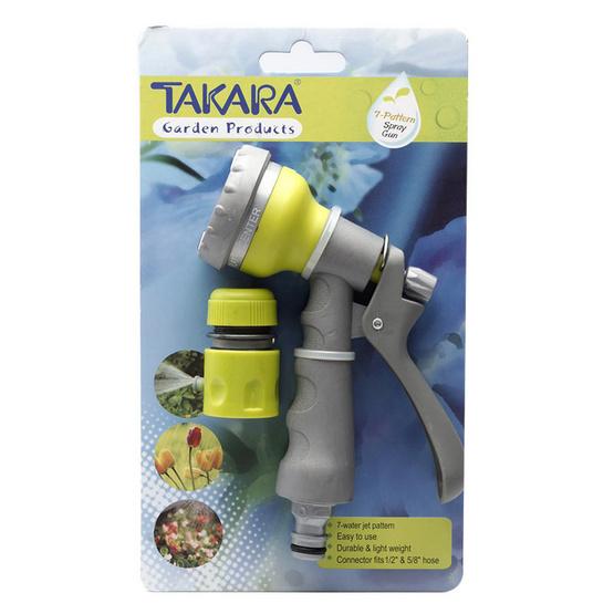 TAKARA DGT2006 หัวฉีดน้ำทาการ่าปรับน้ำ 7 รูปแบบ
