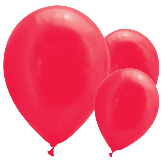 ลูกโป่ง 10 นิ้ว 30 ลูก (สีแดง)