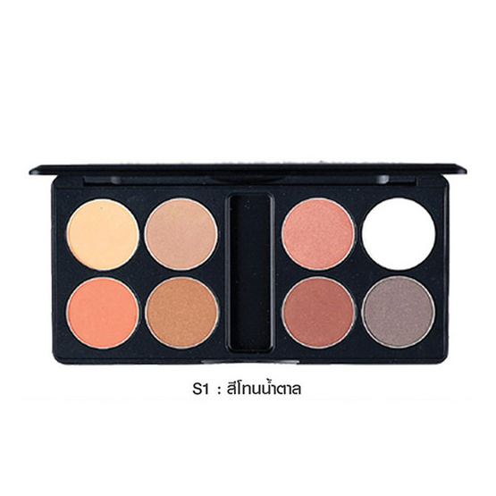 MTI Eyeshadow Palette Sign Collection 13.6g. #S1 สีโทนน้ำตาล