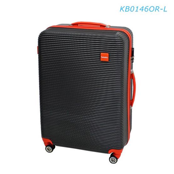 """Fantastico กระเป๋าเดินทาง KB0146OR-L 28"""" พื้นดำขลิบส้ม"""