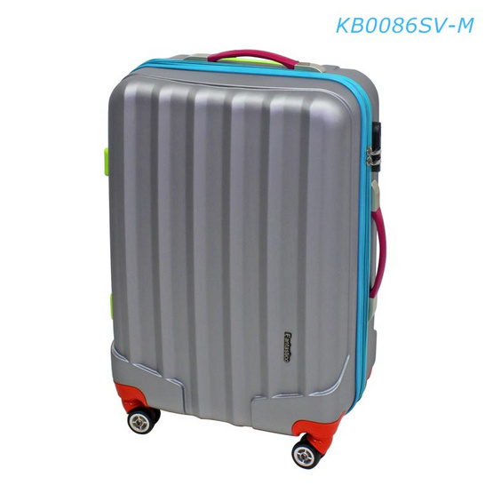 "Fantastico กระเป๋าเดินทาง KB0086SV-M 24"" สีเงิน"