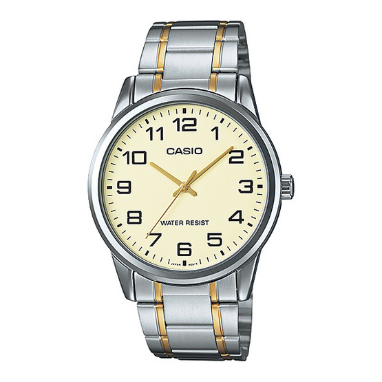 CASIO นาฬิกาข้อมือ รุ่น MTP-V001SG-9BUDF