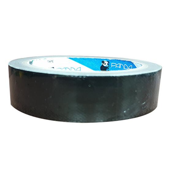 Panda Tape เทปผ้า 24มม.x10หลา สีดำ (แพ็ค24ม้วน)