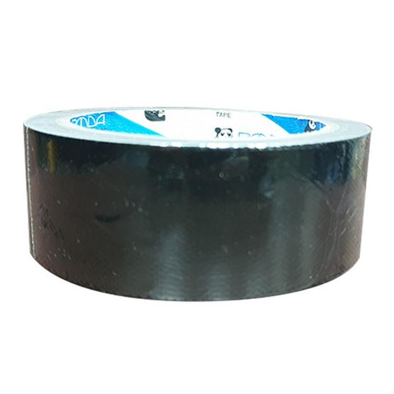 Panda Tape เทปผ้า 36มม.x10หลา สีดำ (แพ็ค15ม้วน)