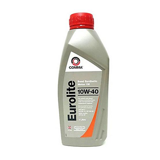 Comma EUL น้ำมันเครื่องกึ่งสังเคราะห์ เบนซิน EUROLITE 10W40