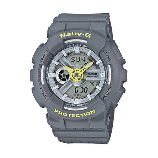 Baby-G นาฬิกาข้อมือ Analog-Digital รุ่น BA-110PP-8ADR