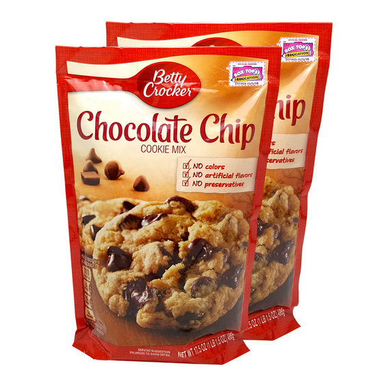 BETTY CROCKER COOKIE CHOCOLATE 496g.  [2 ชิ้น]