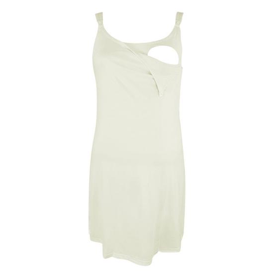 Threeangels Maternity Night Dress AT13-341D-CREAM