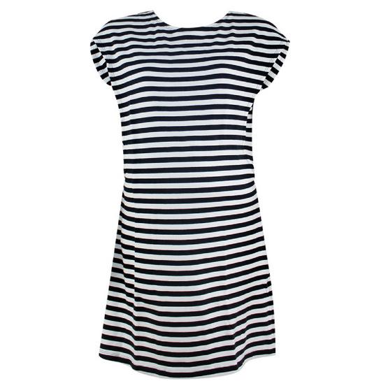 Threeangels Matrenity Dress AT15-368T-BLACK/WHITE
