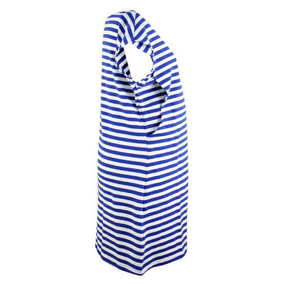 Threeangels Matrenity Dress AT15-368T-NAVY/WHITE