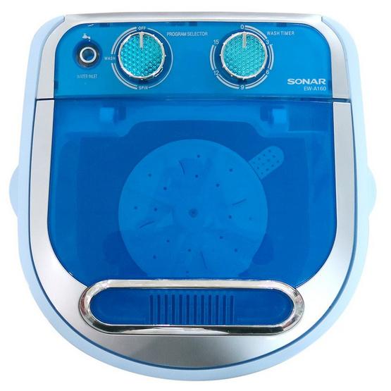 Sonar เครื่องซักผ้ามินิฝาบน 3 กิโลกรัม รุ่น EW-A160