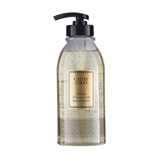 Cathy Choo 9 Pollens Premium Gold Body Bath Gel 750 ml.