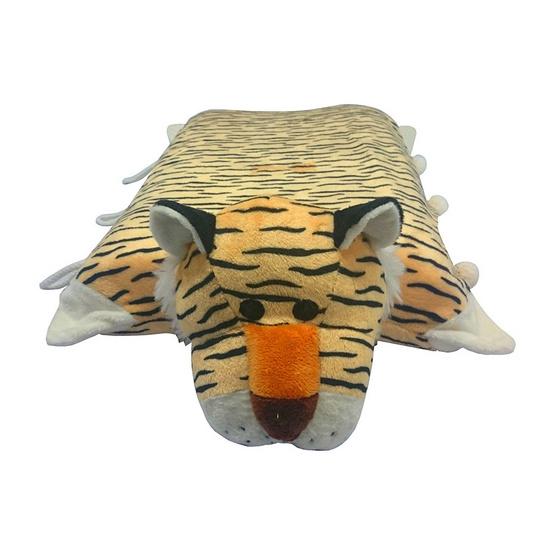 Erawan หมอนยางพาราธรรมชาติ100% ตุ๊กตา มีซิป DP11 เสือ