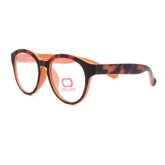 Eyelucy กรอบแว่นตา รุ่น DS513-C5 สีน้ำตาล