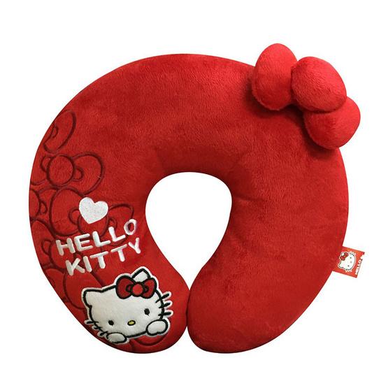 Next Products หมอนรองคอตัวยู I' m hello Kitty สีแดง