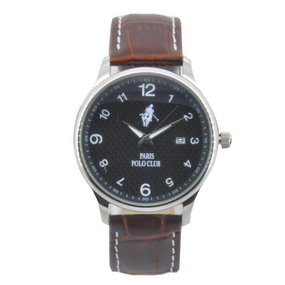 Paris Polo Club นาฬิกาข้อมือ รุ่น 3PP-1505261M-BK-WE