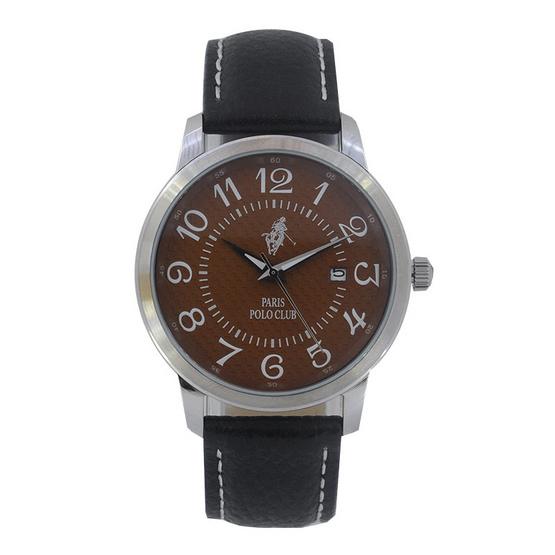 Paris Polo Club นาฬิกาข้อมือ รุ่น 3PP-1505260M-BR-WE