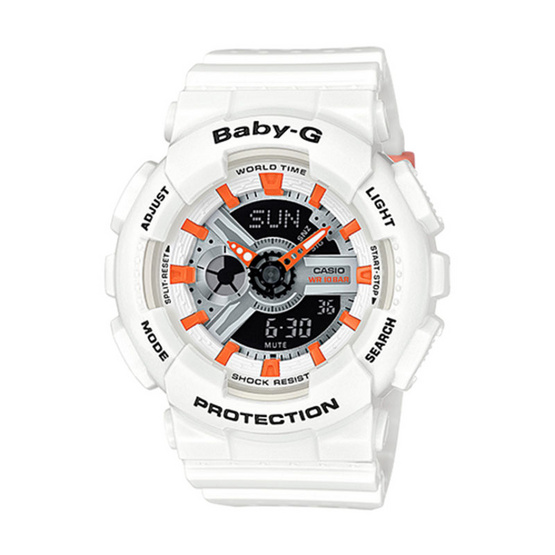 Baby-G นาฬิกาข้อมือ Analog-Digital รุ่น BA-110PP-7A2DR