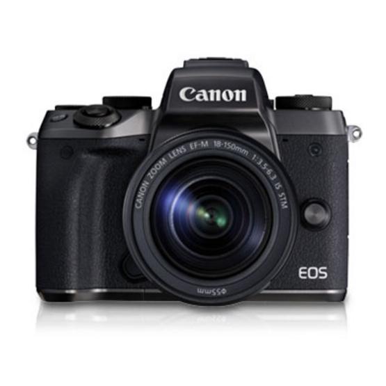 Canon กล้อง Mirrorless รุ่น M5 Kit 18-150 STM (ประกันศูนย์ไทย)