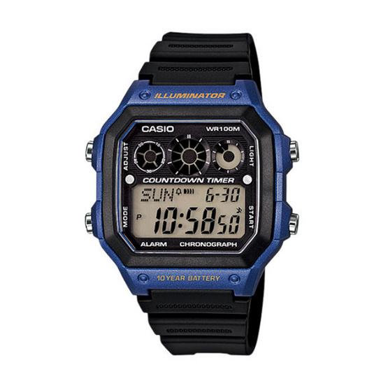 CASIO นาฬิกาข้อมือ รุ่น AE-1300WH-2AVDF