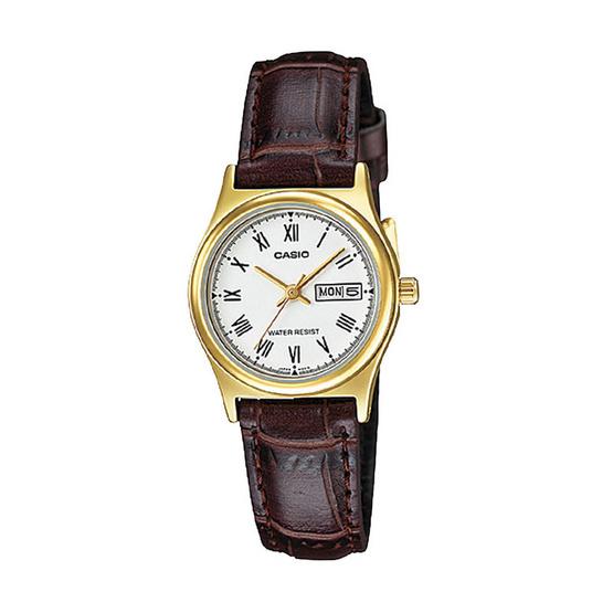 CASIO นาฬิกาข้อมือ รุ่น LTP-V006GL-7BUDF