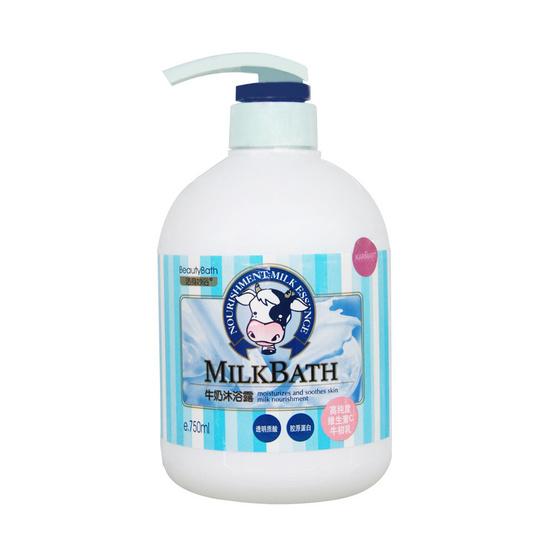 Beauty Bath Silk Smooth Milk Bath 750 ml.