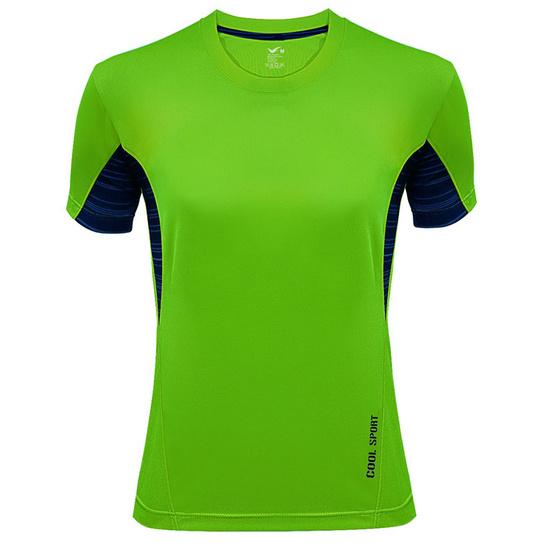 J.Press เสื้อยืดกีฬาผู้หญิง P7502/GR1 สีเขียวมะนาว