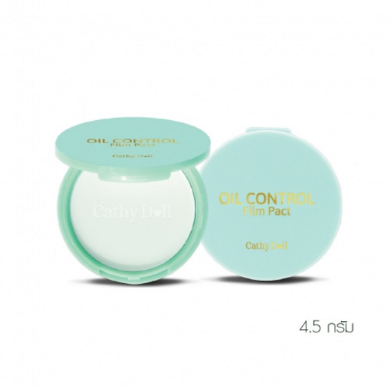 Oil Control Film Pact 4.5g. Cathy Doll (M) Translucent