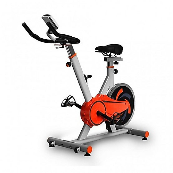 FIT2FIRM จักรยานนั่งปั่นออกกำลังกาย Spin Bike รุ่น JTS611-2 สีขาว 13KG.