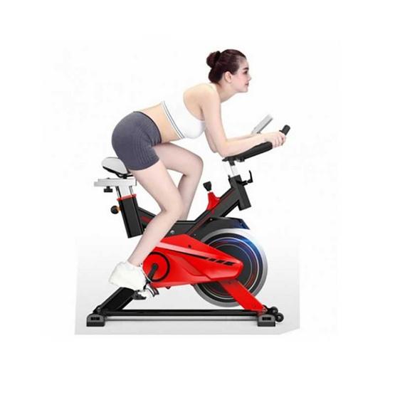 FIT2FIRM จักรยานนั่งปั่น Spin Bike x-sport รุ่น JTS615 สีดำ-แดง 13KG.