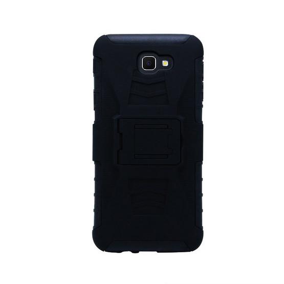 Gizmo Armor Stand Clip Case Galaxy J5 Prime Black