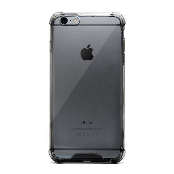Gizmo Case iPhone 6 Plus Fusion Clear Black