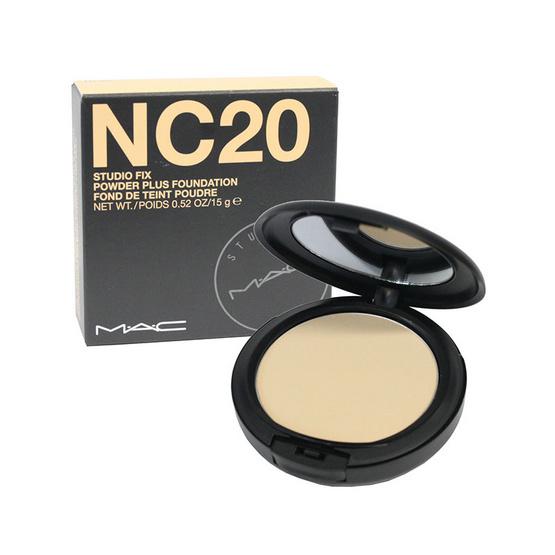 Mac Fix Powder Plus Foundation 15g. #Nc20